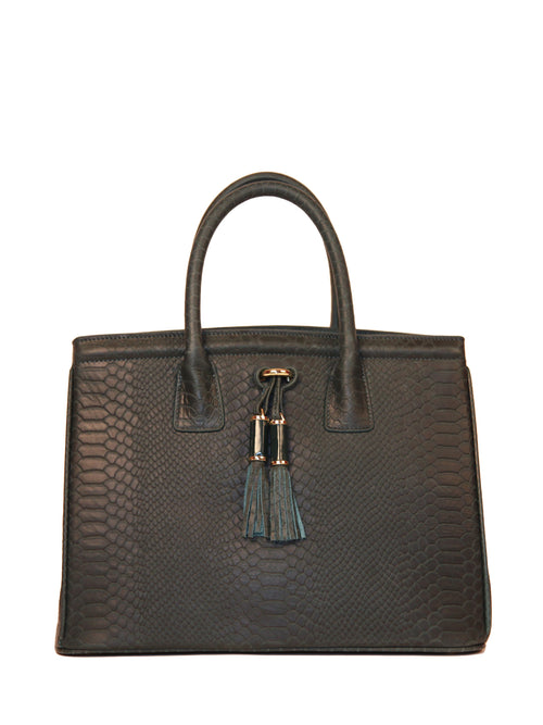 Tasseled Satchel, IVANKA - elilhaam.com