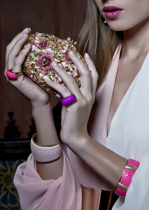 Exotic Dome Ring in Amethyst, Accessories,Designers, TED ROSSI - elilhaam.com