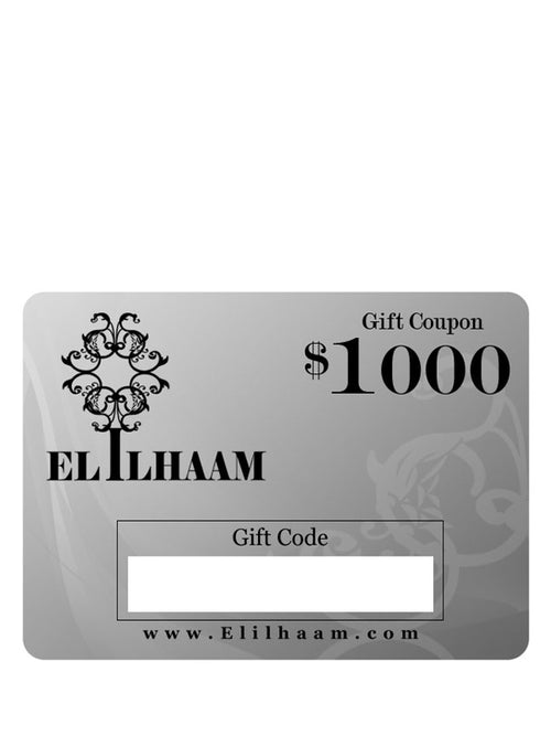 Elilhaam Gift Coupon, Elilhaam - elilhaam.com