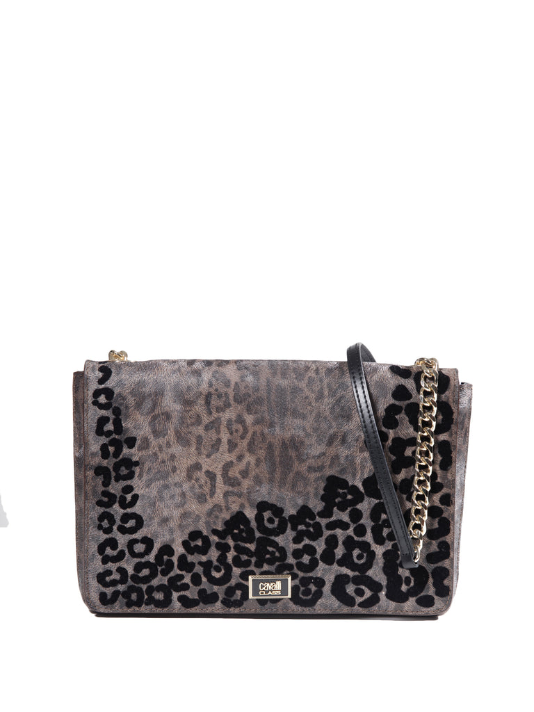 Class Cavalli Leopard Addiction Bag, CAVALLI CLASS - elilhaam.com