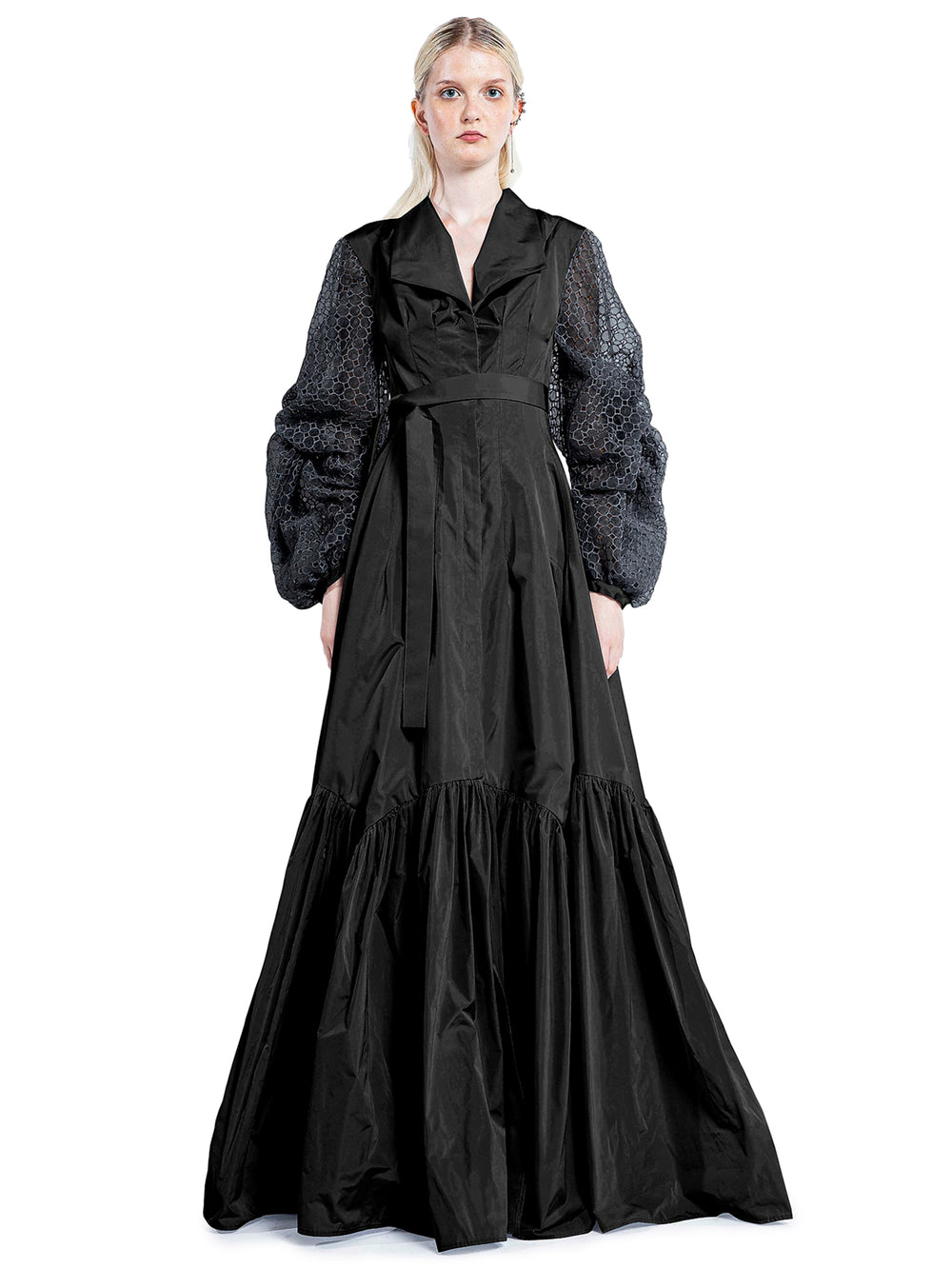 Black Long Chemisier Dress
