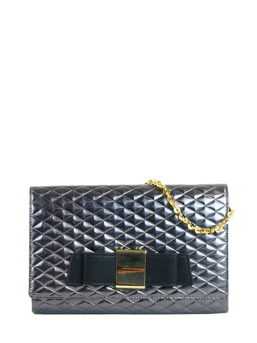 Blair Clutch Silver, IVANKA TRUMP - elilhaam.com