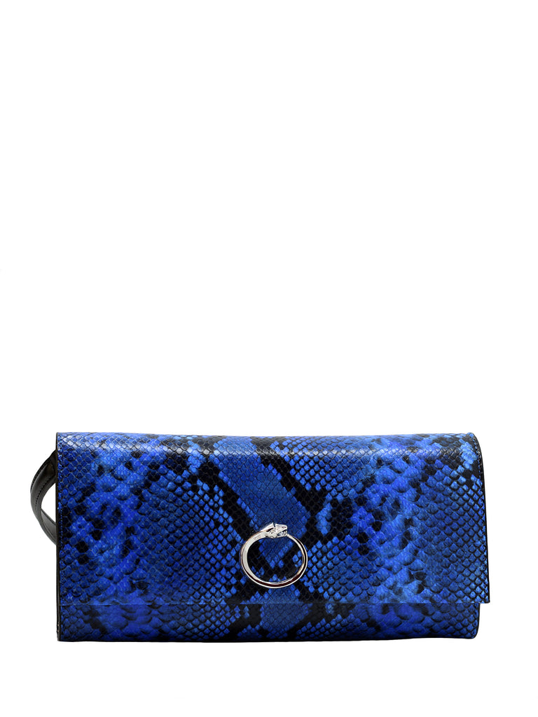 Glitter Blue Shoulder Bag