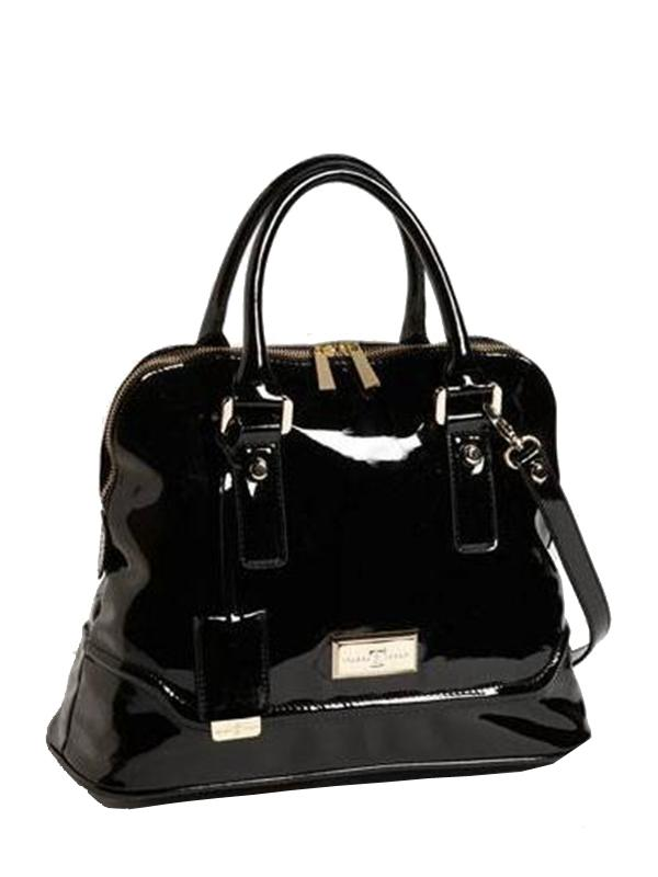AVA Satchel Black Bag, IVANKA TRUMP - elilhaam.com