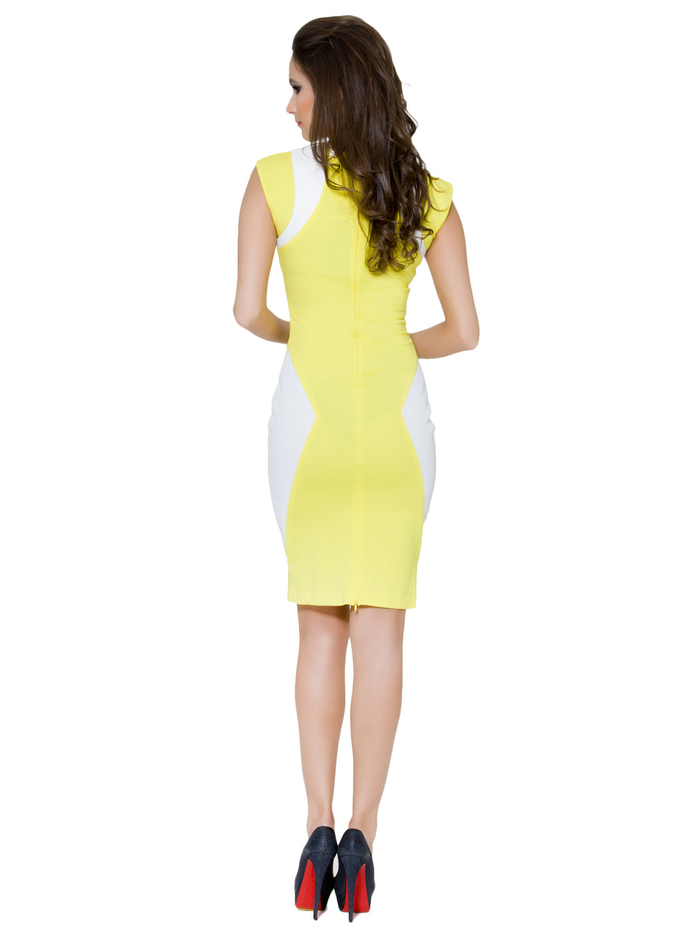 Short Yellow Dress, BYBLOS - elilhaam.com