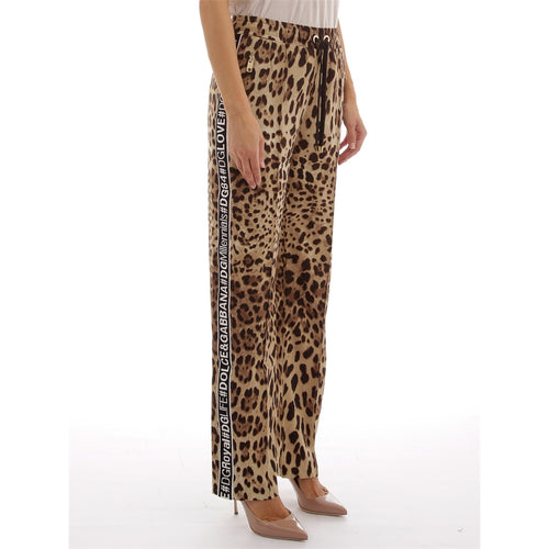 Printed Candy Silk Pants