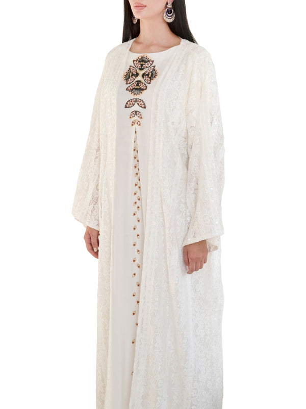 White Snow Kaftan
