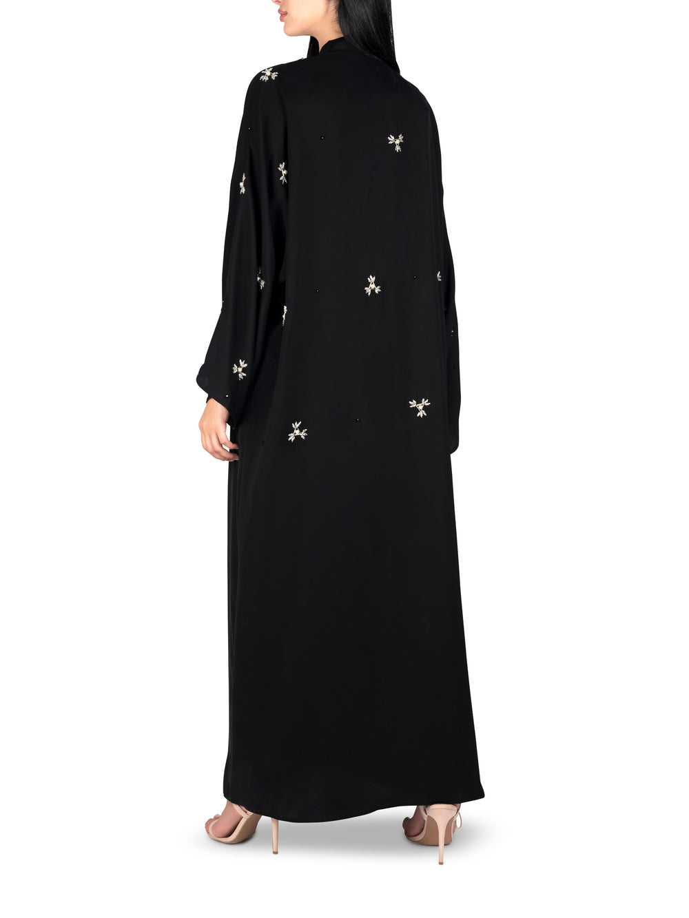 Moonlight Black Abaya