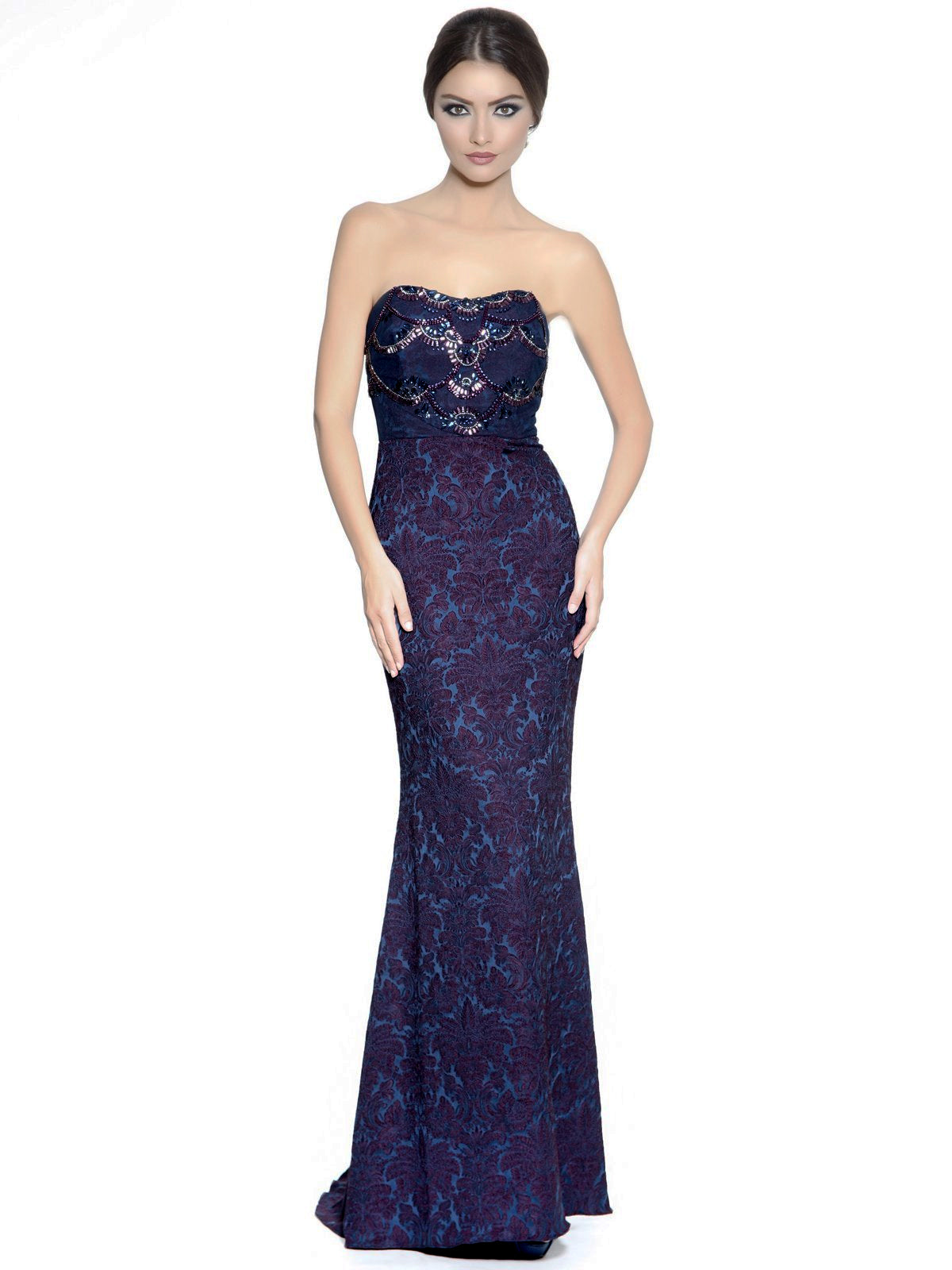 Beaded Corset Gown – Elilhaam