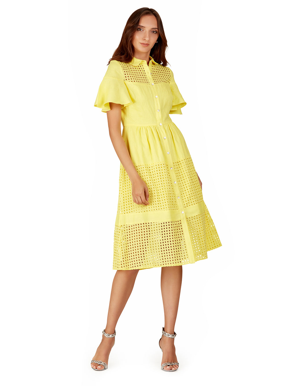 Canary Midi Dress, BELLE BADGLEY MISCHKA - elilhaam.com