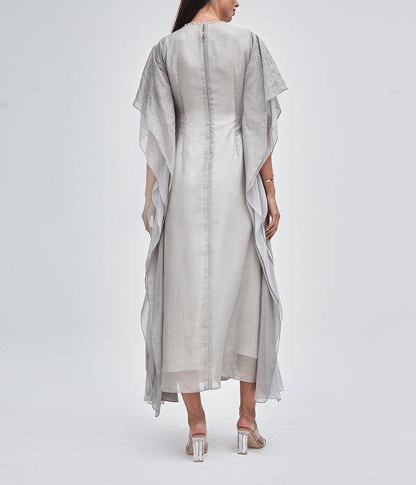 Pleated Farasha Kaftan