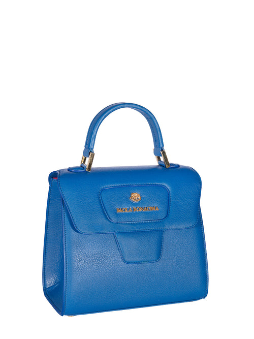 Blue Grace Top Handle Bag