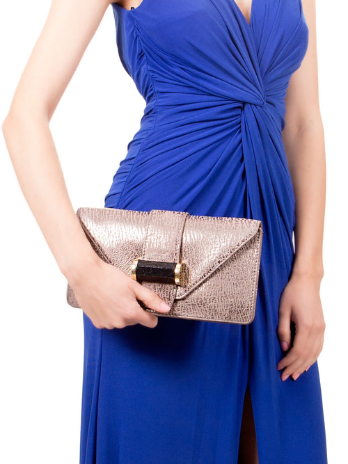 Clutch Pewter, IVANKA - elilhaam.com