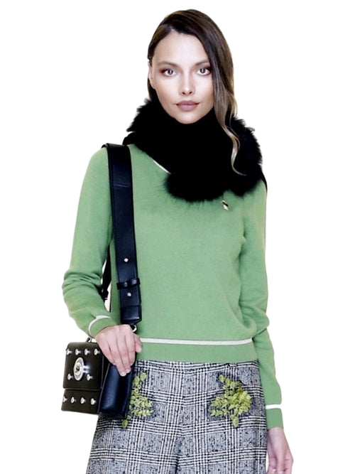 Green Wool Sweater
