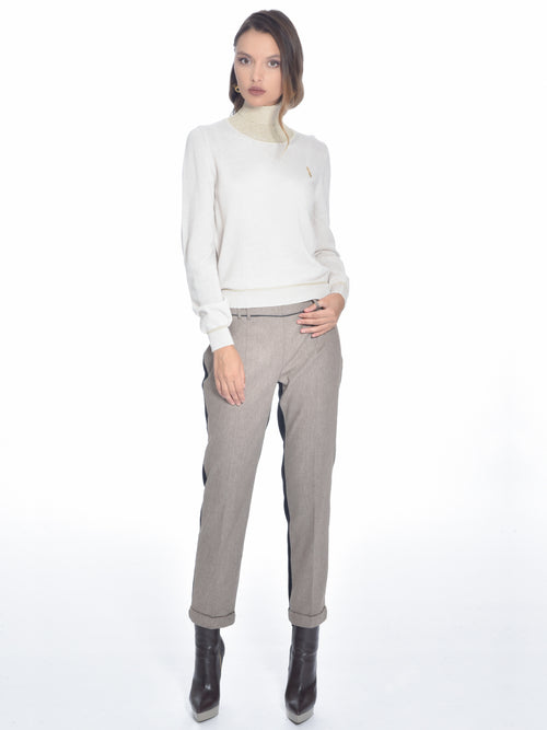Wool Cashmere Blend Sweater, ROBERTA SCARPA - elilhaam.com