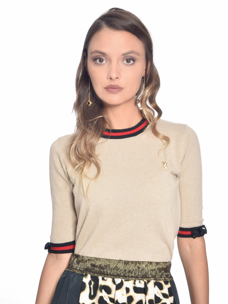 Wool and Cashmere Blend Sweater, ROBERTA SCARPA - elilhaam.com