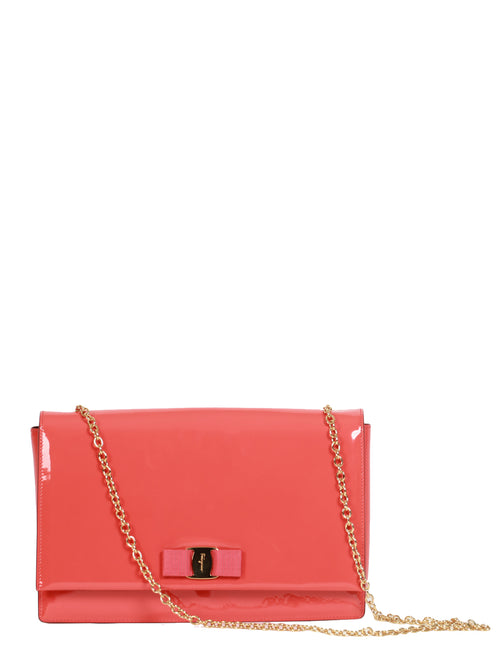 Orange Vara Flap Bag