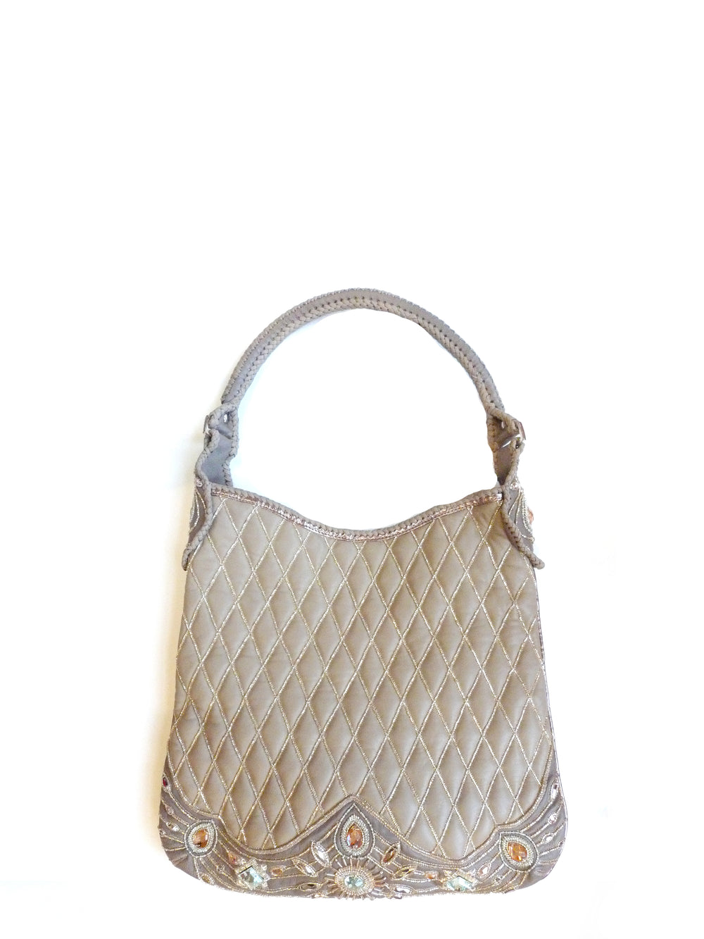 Indian Tote Q Taupe