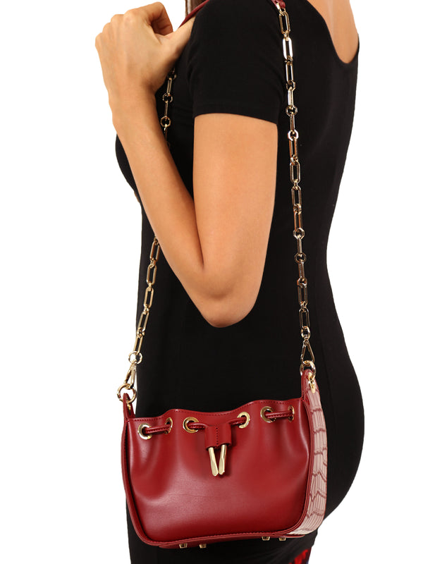 Red Bucket Bag Mirage