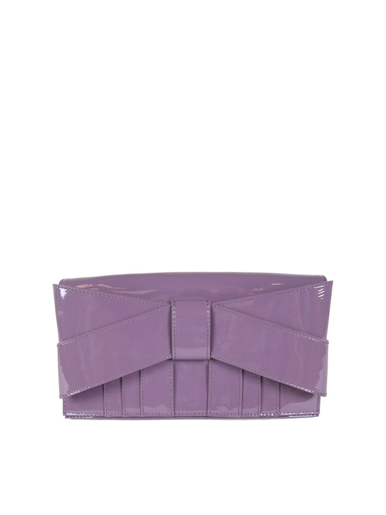 Amethyst Shirley Evening Bow Clutch ، Z تكلم من ZAC POSEN - elilhaam.com