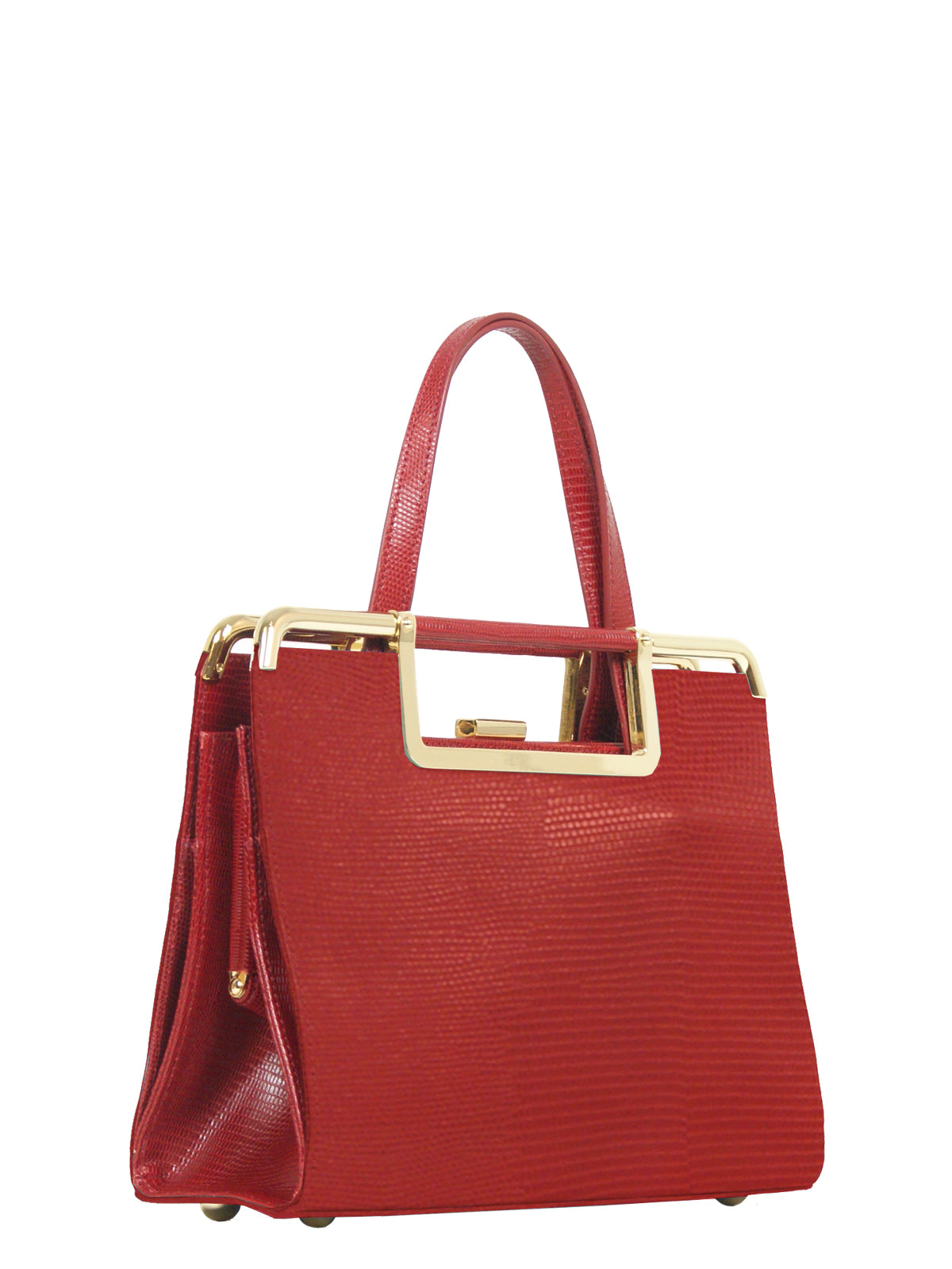 4f4fabeca6c Audrey Accordion Satchel in Ruby – Elilhaam
