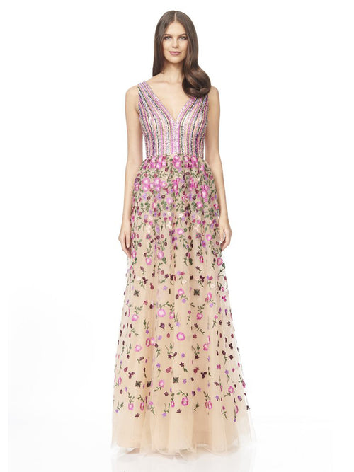 Bodice and Embroidered Dress, DAVID MEISTER - elilhaam.com