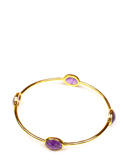 Accessories,Designers - Bangle In Amathyst