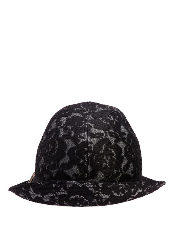 Black Danteil Fedora Hat, JOHN GALLIANO - elilhaam.com