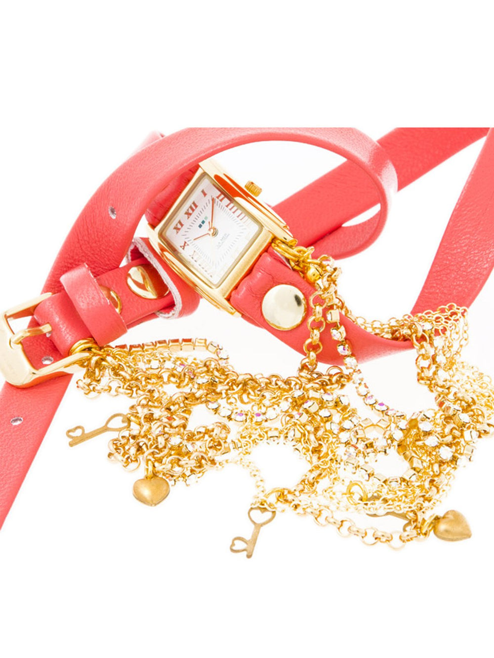 Charm Wraps Tokyo Crystal Watch, LA MER COLLECTIONS - elilhaam.com