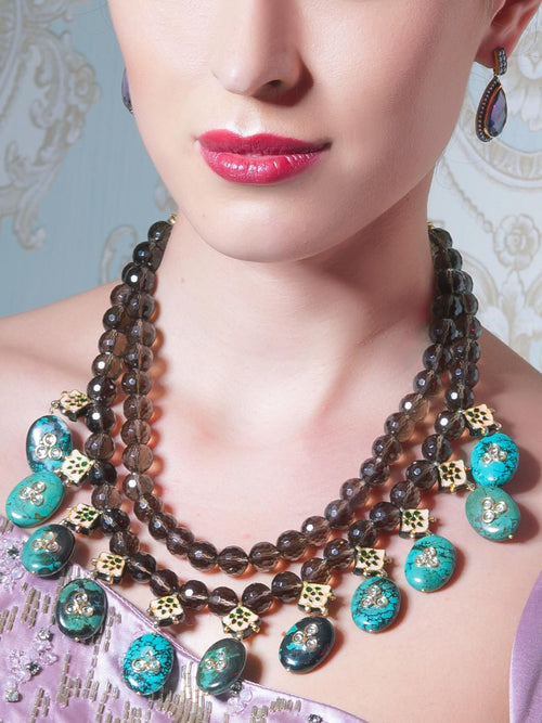 Accessories,Designers - Double Strands Necklace