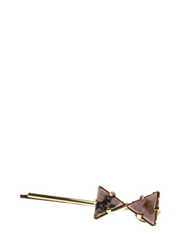 Accessories,Designers - Hairclip With Bow