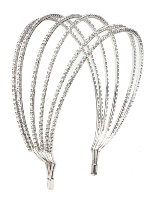 Accessories,Designers - Lily Swarovski Crystal Hairband