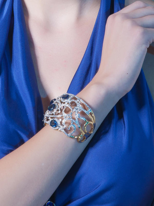 Accessories,Designers - The Royal Blue Cuff