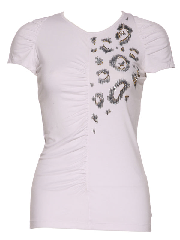 Donna Stretch Viscose top, VERSACE - elilhaam.com