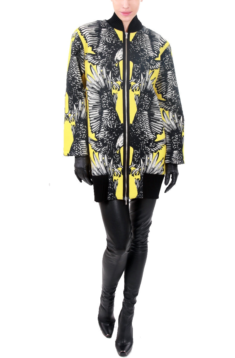 Eagle Printed Overall  Coat, JC DE CASTELBAJAC - elilhaam.com