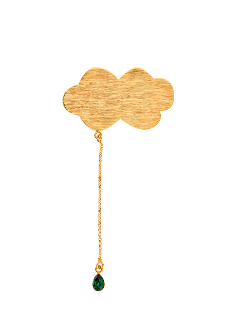 Molettee Cloud Gold Plated Brass Pin, 10 DECOART - elilhaam.com