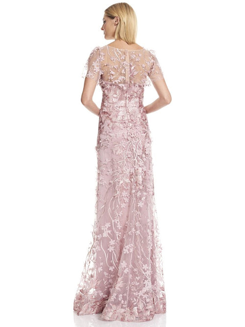 Embroidered Gown, DAVID MEISTER - elilhaam.com