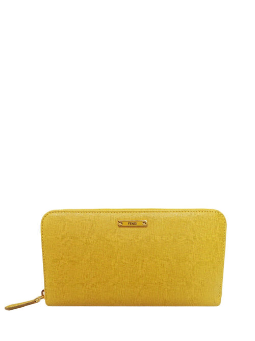 Designers - Fendi  Women Leather Wallet