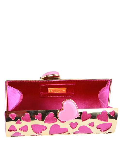 Designers - PRETTY HEART CLUTCH BAG