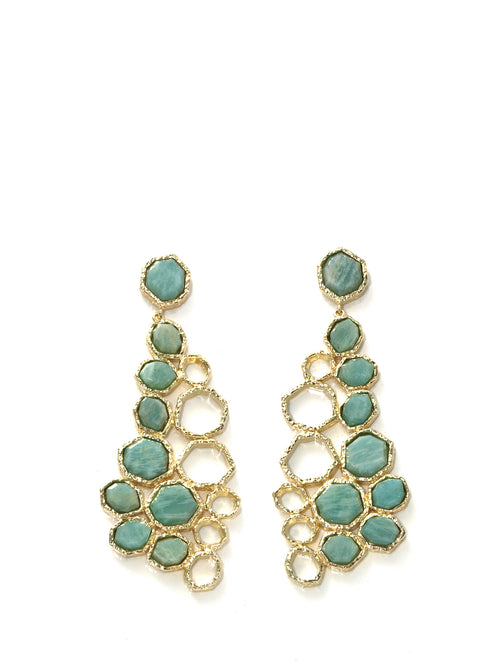 Honeycomb Earring, ISHARYA - elilhaam.com