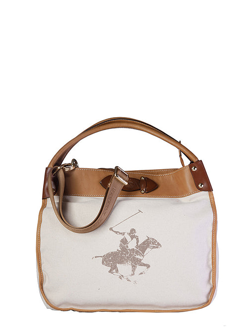 Cross Country Canvas Tote, BEVERLY HILLS POLO CLUB - elilhaam.com
