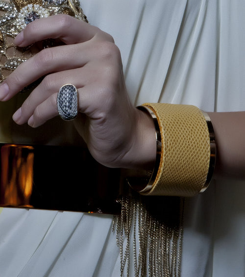 Exotic Dome Ring Natural, Accessories,Designers, TED ROSSI - elilhaam.com