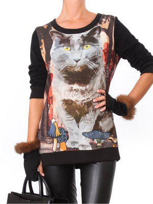 Cat Cely Sweater