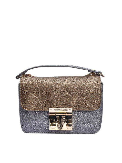 Golden Silver Glitter Cross body Bag