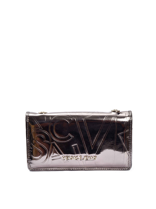 Metallic Wallet With Chain