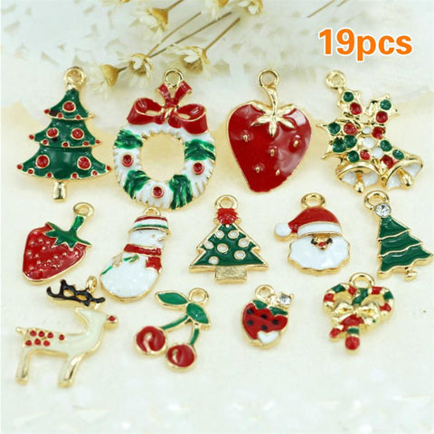 19PCS Christmas Charms - PB and Apple Jelly