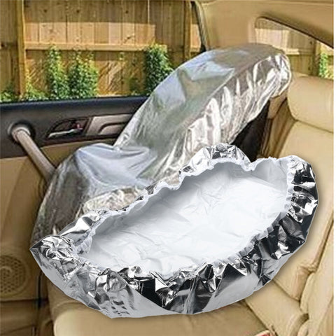 Aluminum Car Seat Sun Shade