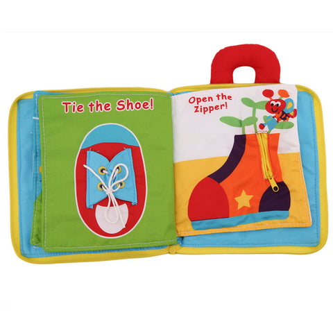 Soft Cloth Educational Books - PB and Apple Jelly