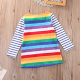 Rainbow Dress (Sizes 2T-7)