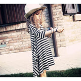 Mommy and Me Striped Dresses (Free size/2T-5T)